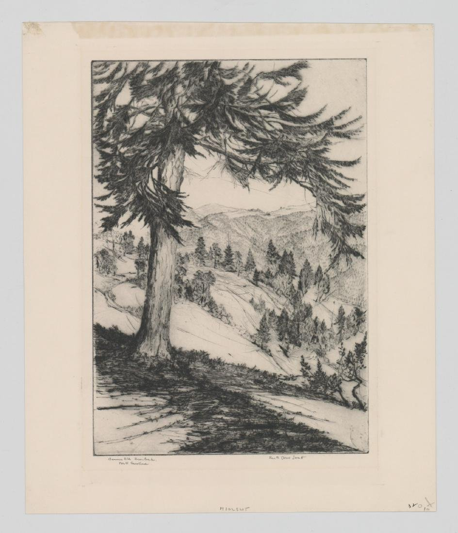 Ruth Doris Swett Etching - 2