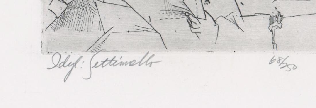 Andrew Rush Etching [Idyl Settimello] - 4