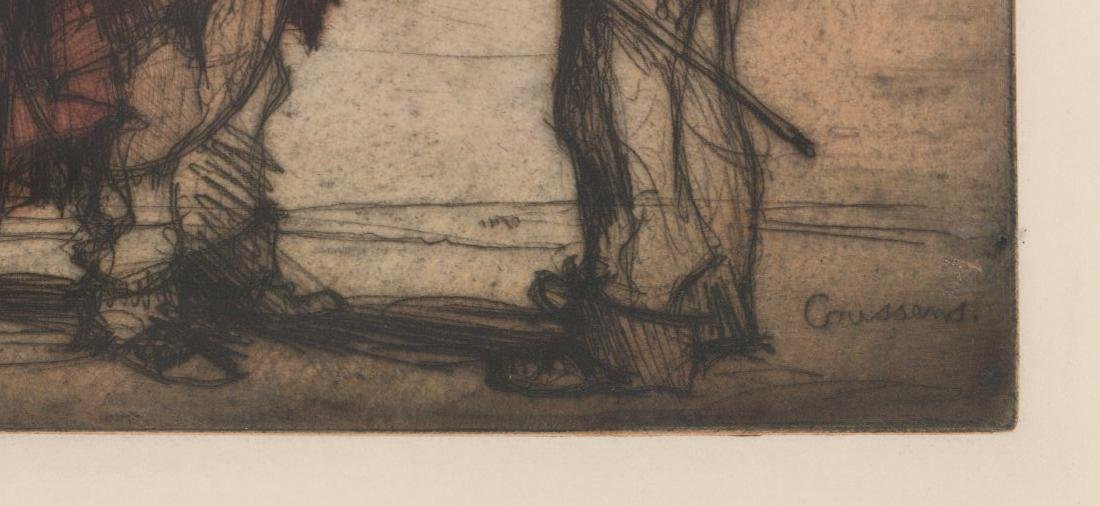 Armand Coussens (1881 - 1935) Etching - 3