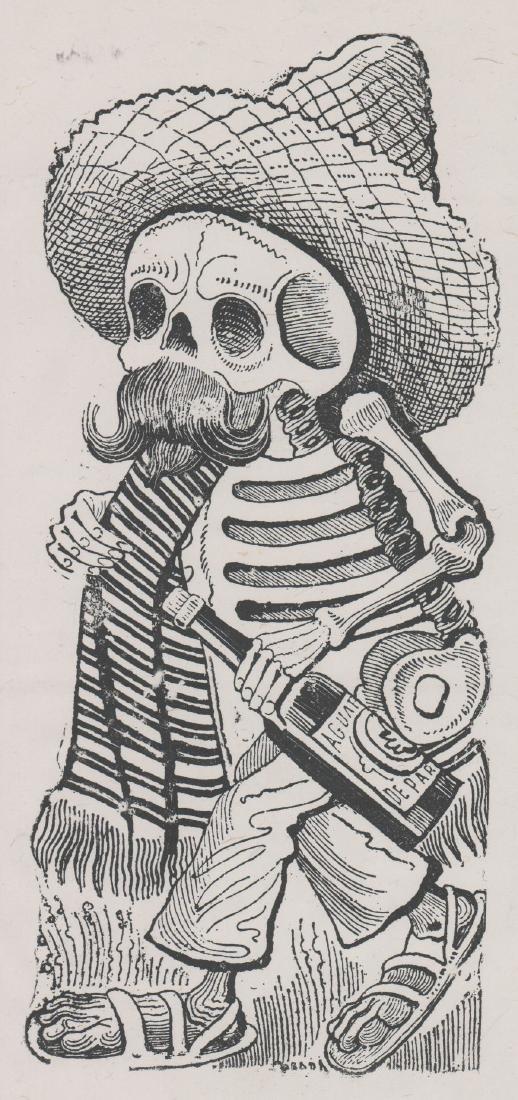 Jose Guadalupe Posada (1852-1913) Etching