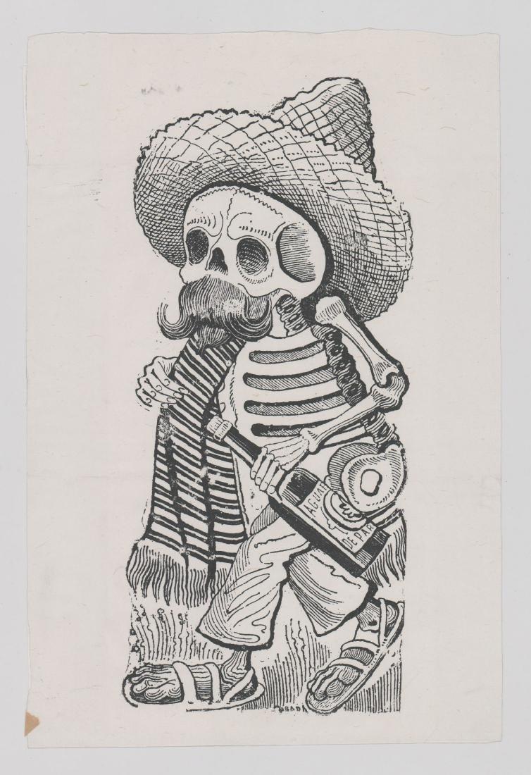Jose Guadalupe Posada (1852-1913) Etching - 2
