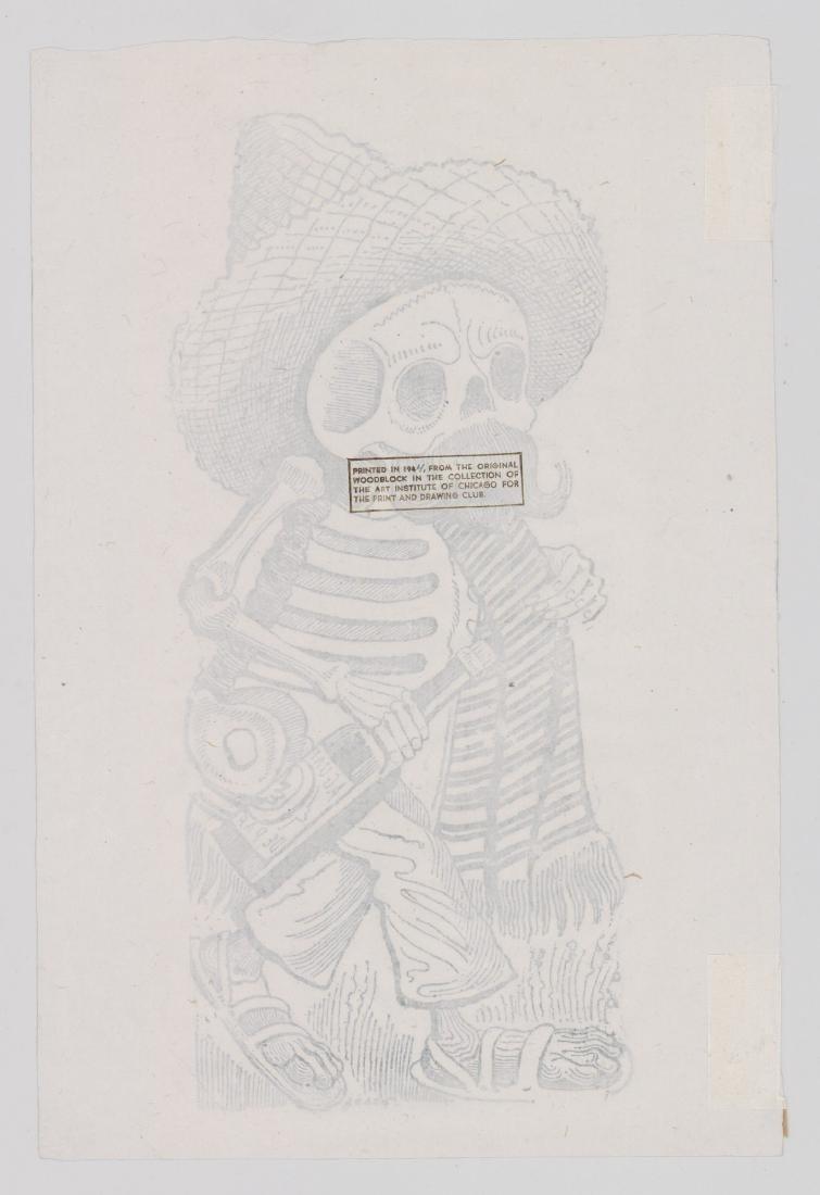 Jose Guadalupe Posada (1852-1913) Etching - 3