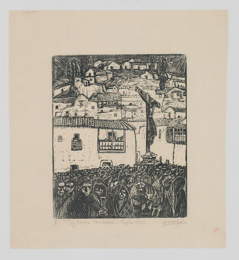 Jose Sabogal Dieguez (1888-1956) Woodcut - 2