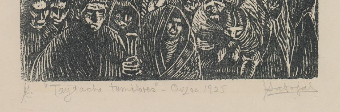 Jose Sabogal Dieguez (1888-1956) Woodcut - 3