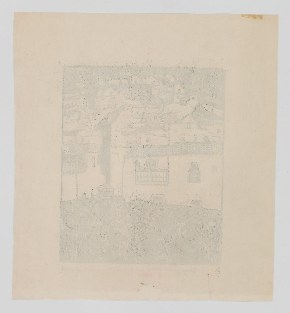 Jose Sabogal Dieguez (1888-1956) Woodcut - 4