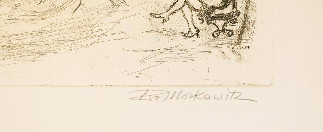 Ira Moskowitz Artist proof Etching - 3