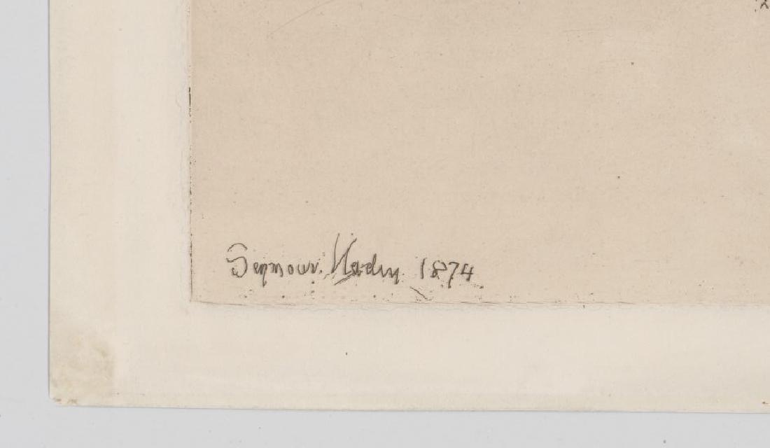 Seymour Haden Etching - 3