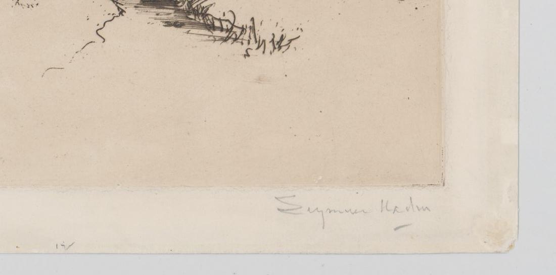 Seymour Haden Etching - 4