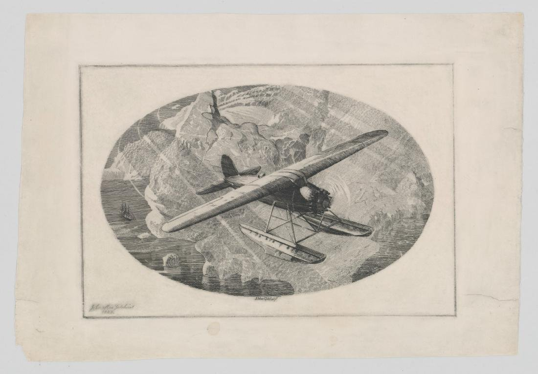 John Mac Gilchrist Etching and Drypoint - 2