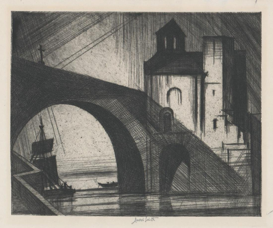 Jules Andre Smith Etching