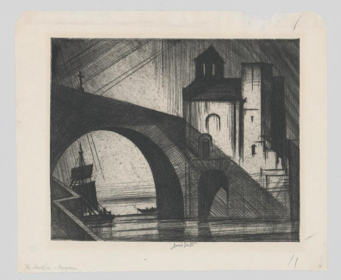 Jules Andre Smith Etching - 2