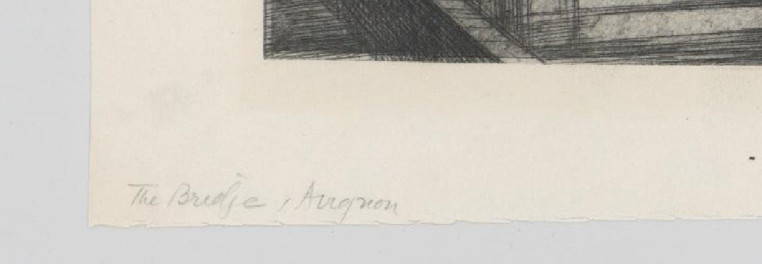 Jules Andre Smith Etching - 4