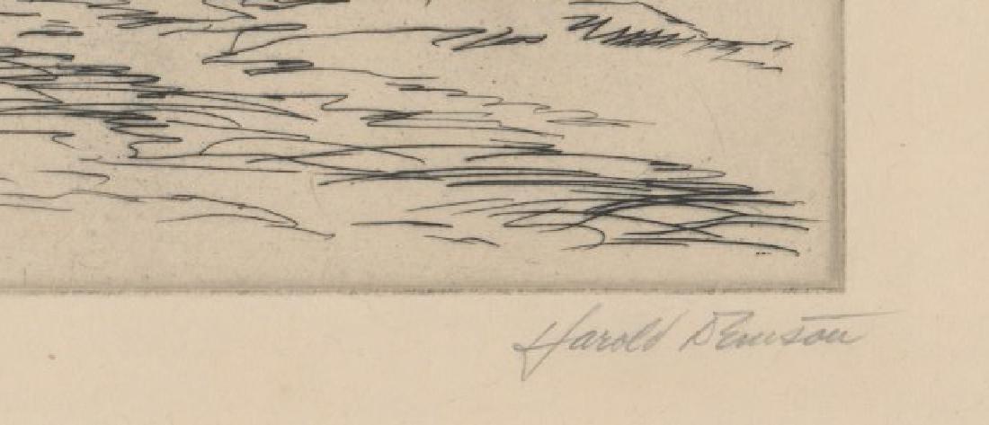 Harold Denison Etching - 3