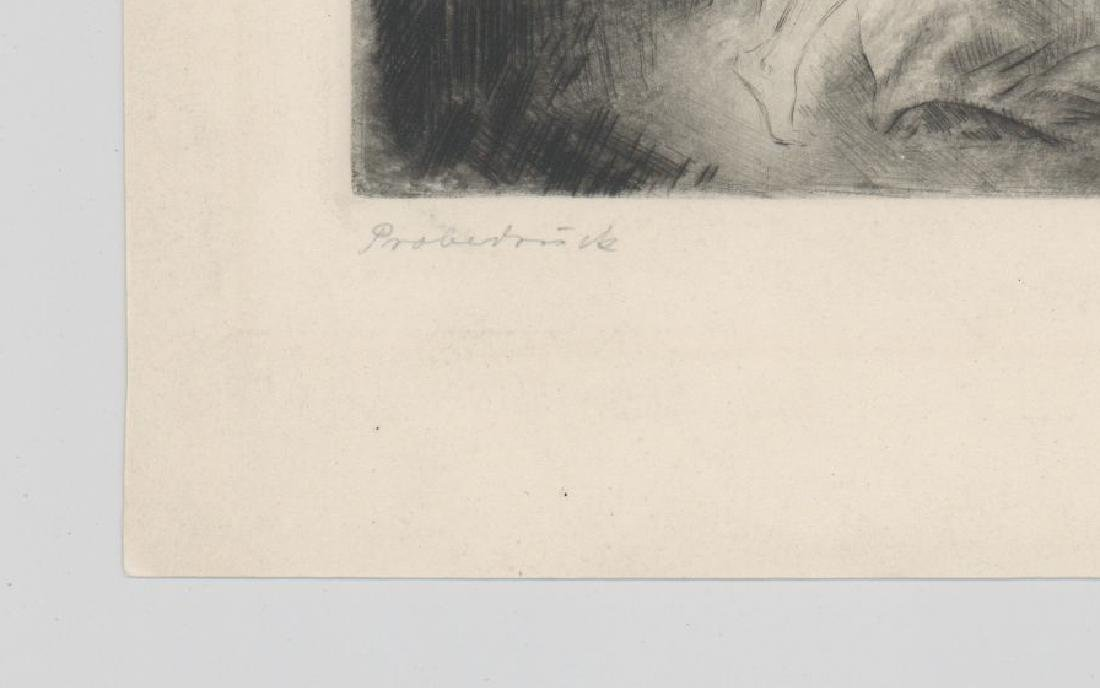 Hanns Anker (1873-1950) Etching - 4