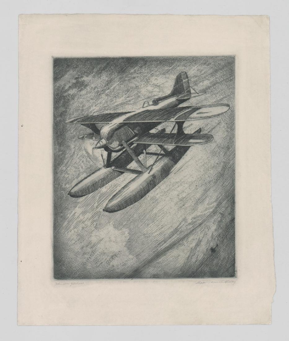 John Mac Gilchrist Etching - 2