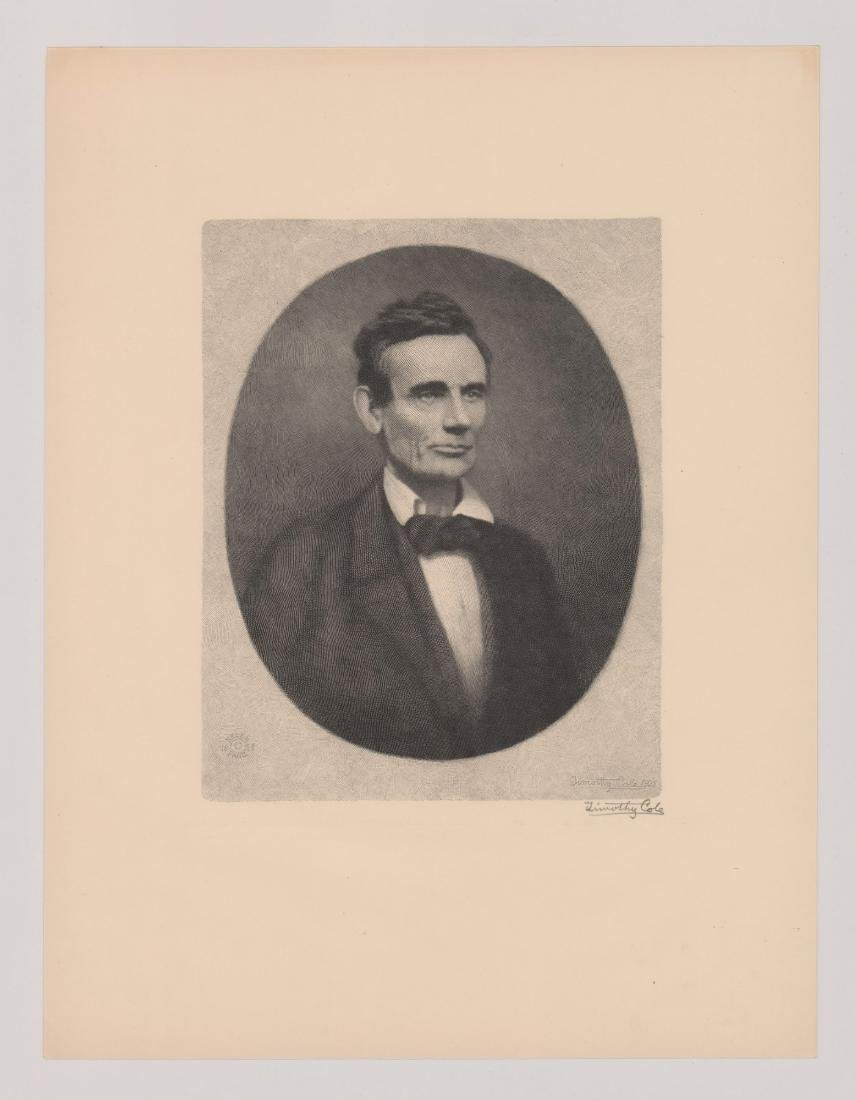 Timothy Cole Wood Engraving [Abraham Lincoln] - 2