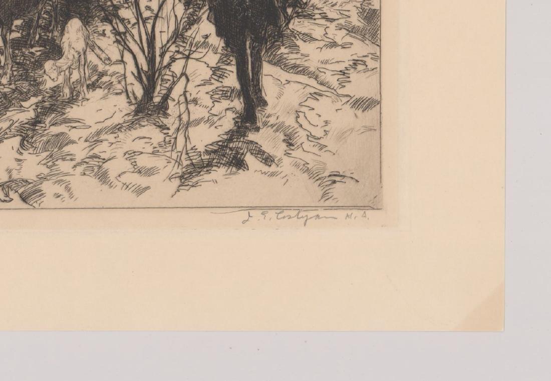 John Costigan Etching [Spring Time] - 3