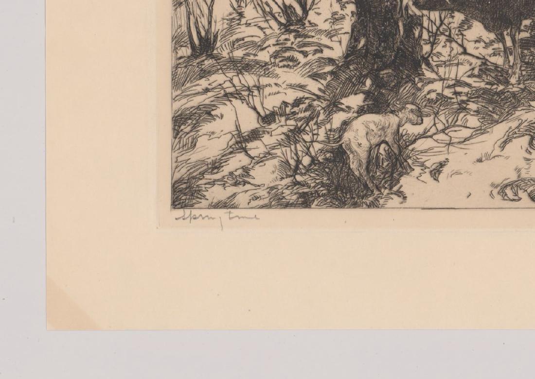 John Costigan Etching [Spring Time] - 4