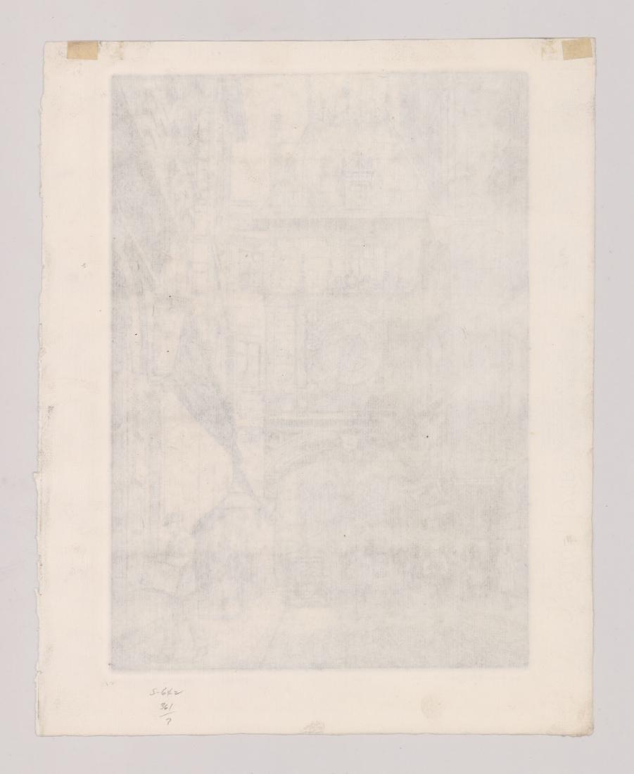 Lynn Morgan (New York born 1889) Etching - 4