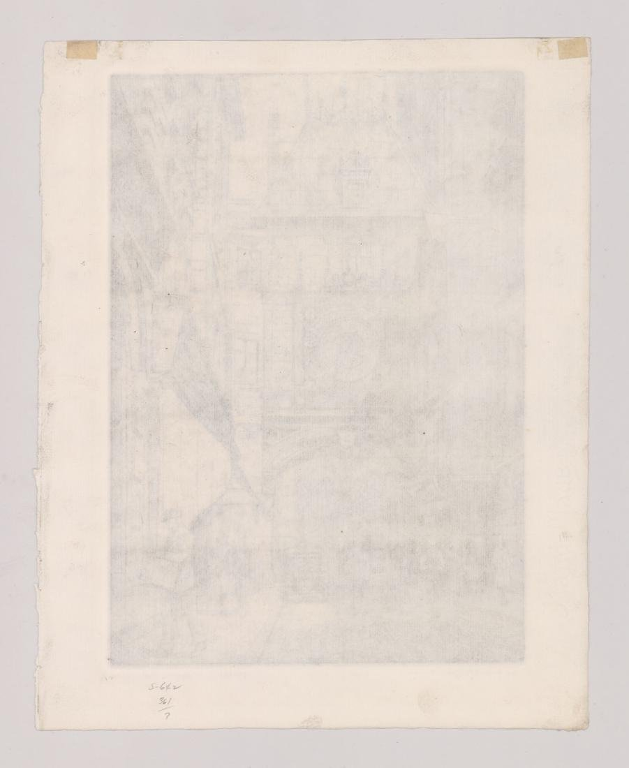 Lynn Morgan (New York born 1889) Etching - 5