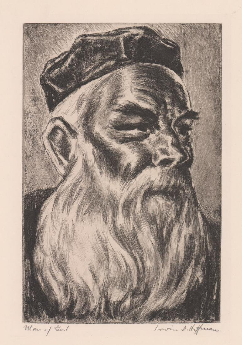 Irwin Hoffman Etching [Man of God]