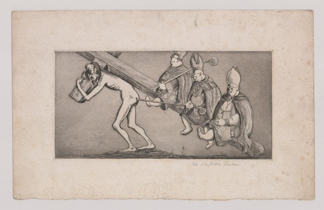 """Russell """"Butch"""" Limbach (1904 - 1971) Etching - 2"""
