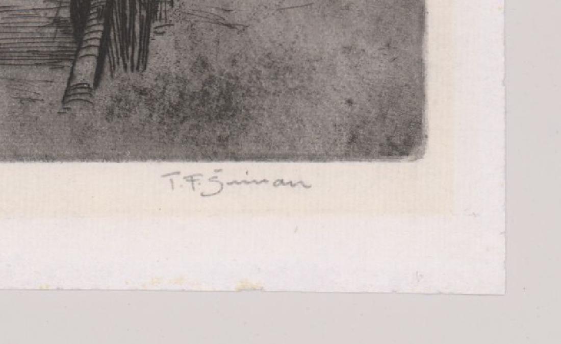 Tavik Frantisek (TF) Simon (1877 - 1942) Etching - 3