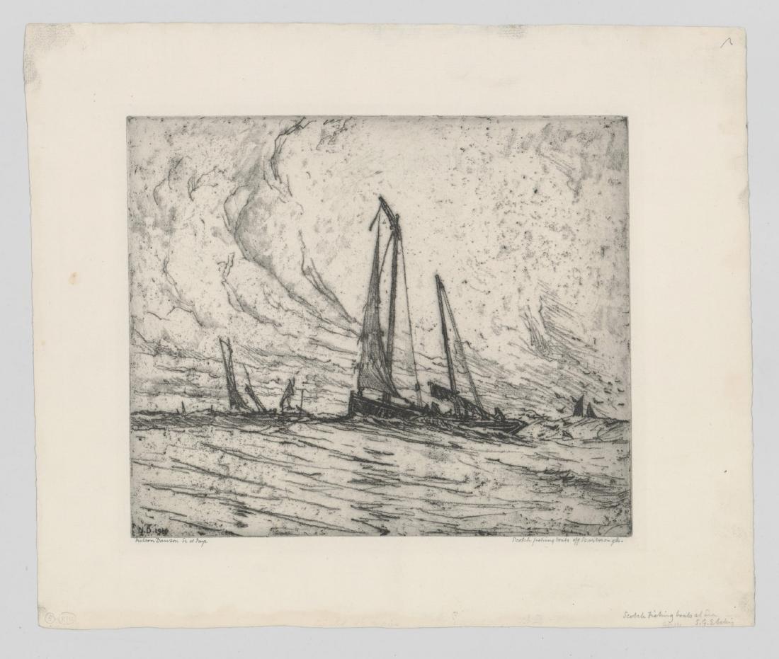 Nelson Dawson (1859 - 1941) Etching - 2