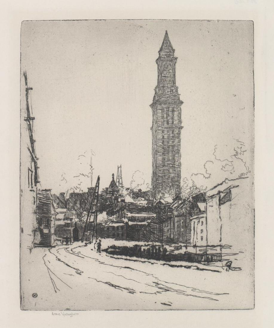 Sears Gallagher Etching