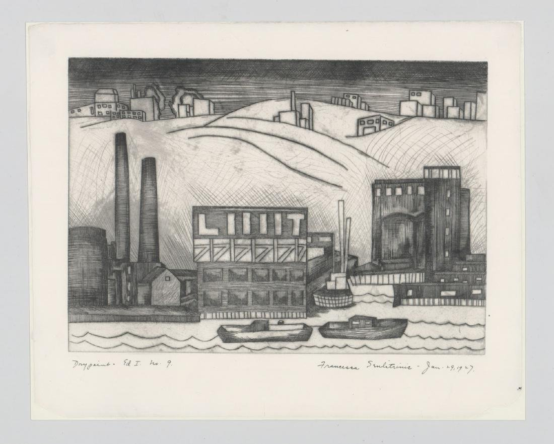 Francesca Seulitrinic Etching - 2