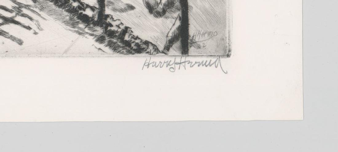 Harry Hering (New York 1887-1967) Etching - 3