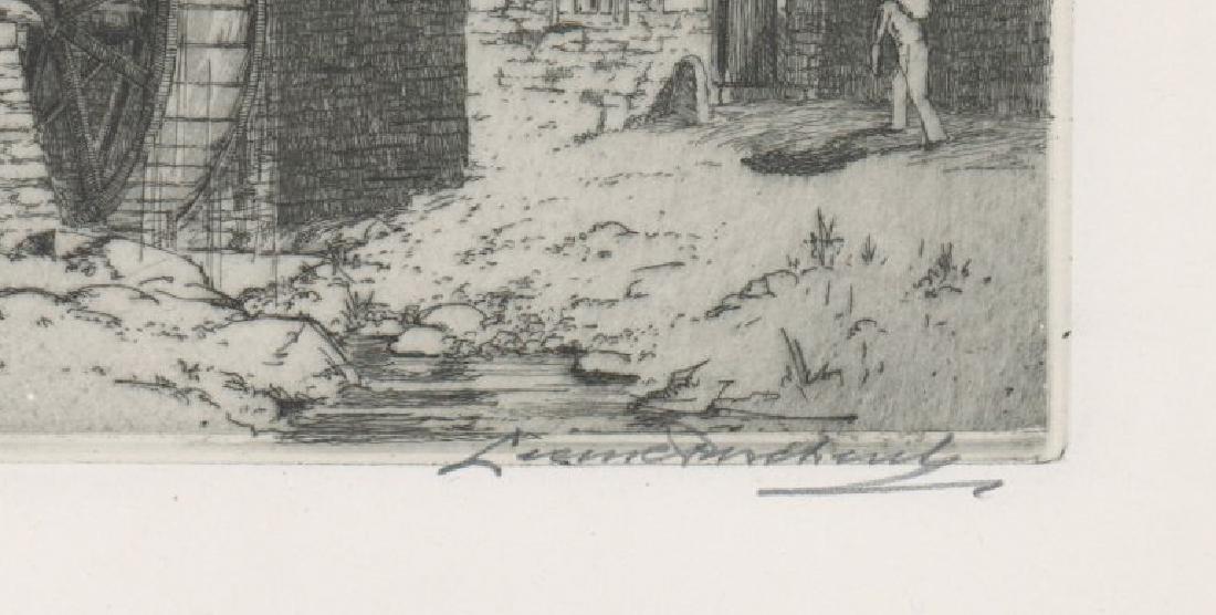 Leon Pescheret (1892-1971) Etching - 3