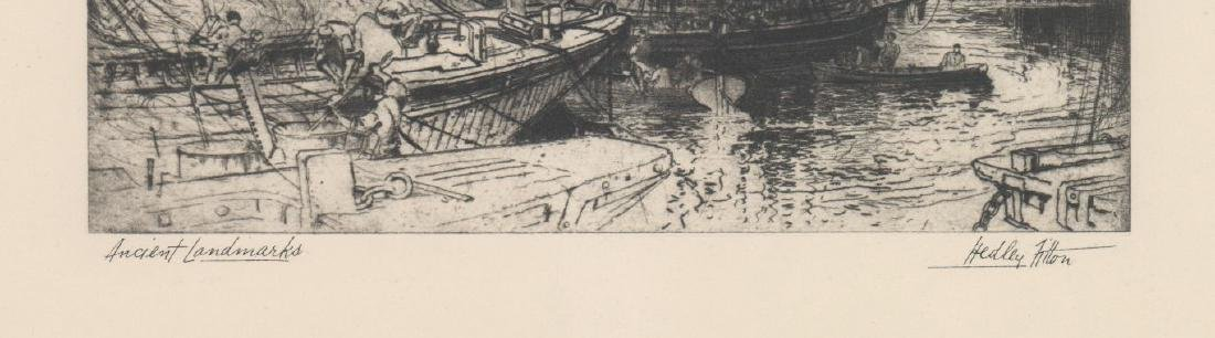 Hedley Fitton Etching [Ancient Landmarks] - 4