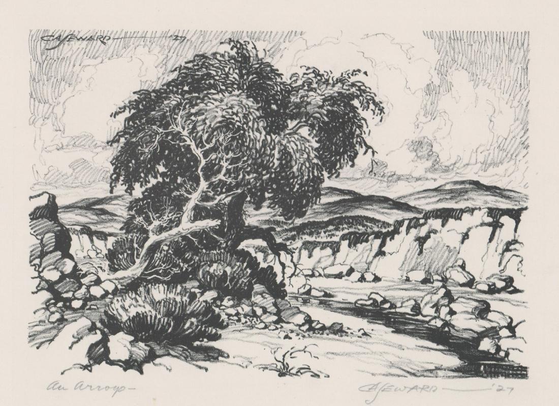 Coy Avon Seward Lithograph