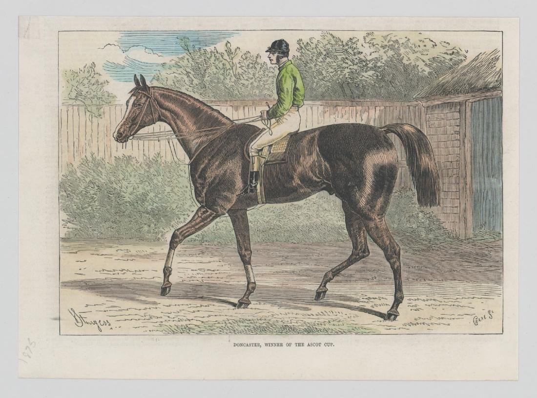 Group of Five 19th Century Horse Racing Prints - 2