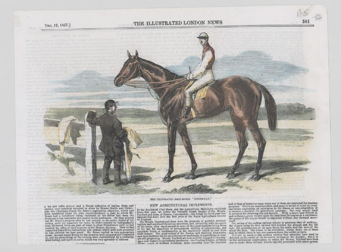Group of Five 19th Century Horse Racing Prints - 3