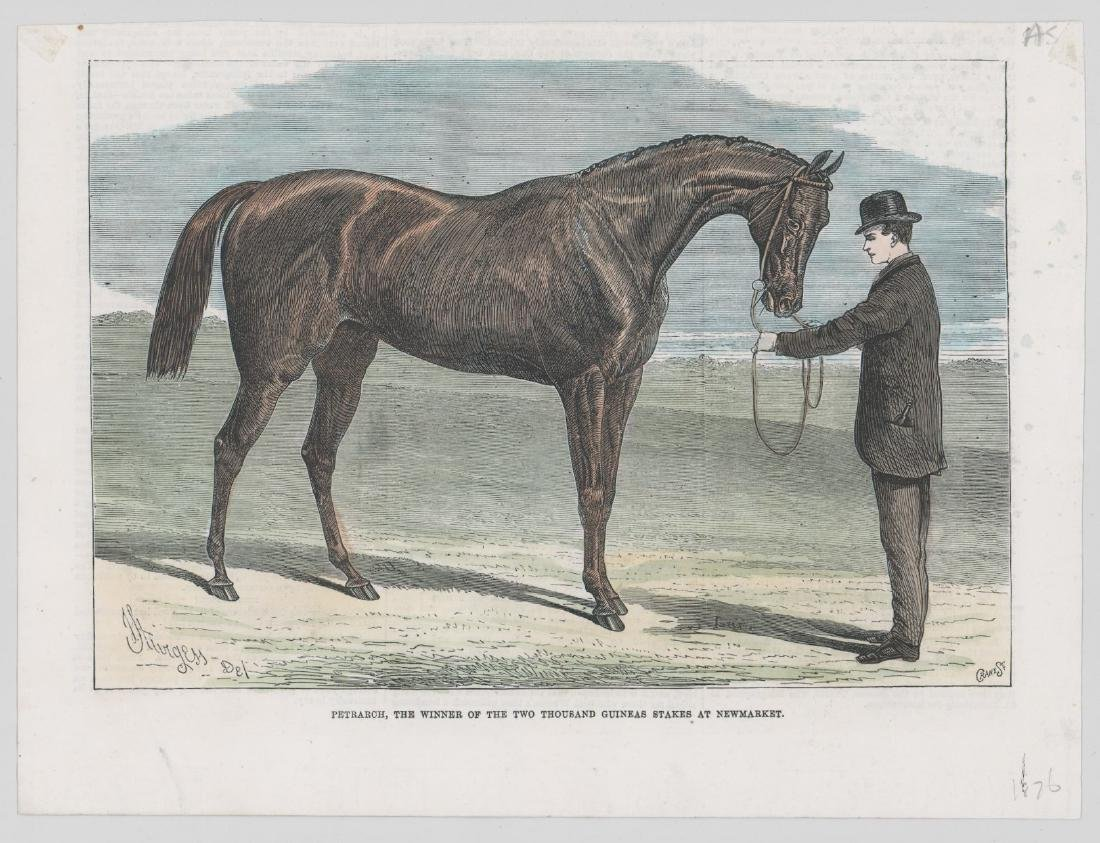 Group of Five 19th Century Horse Racing Prints - 4