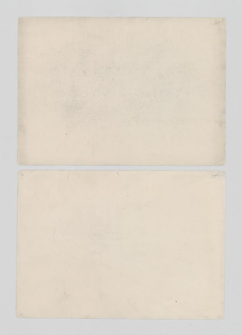 Harry Neyland Pair Original Drawings - 6