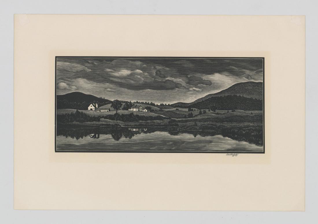 Asa Cheffetz Wood Engraving - 2