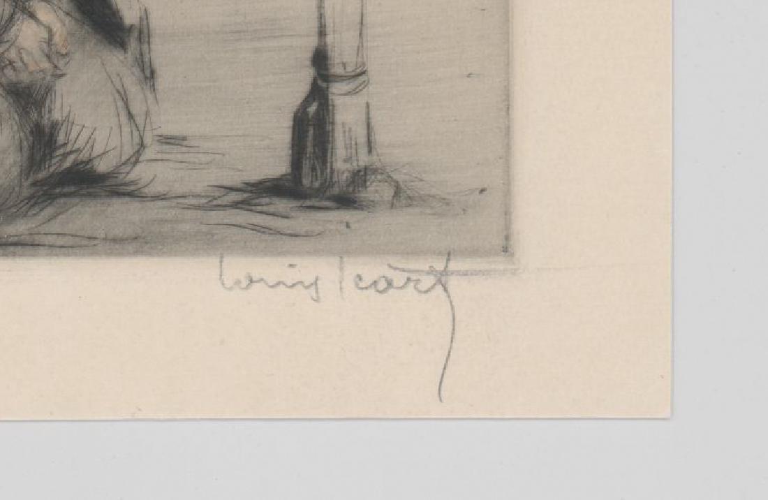 Louis Icart Etching [The War Widow] - 3