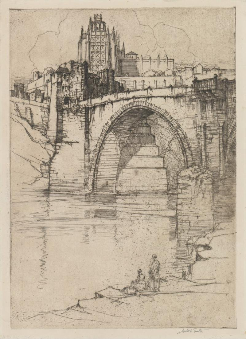 Jules Andre Smith (American 1880-1959) Etching