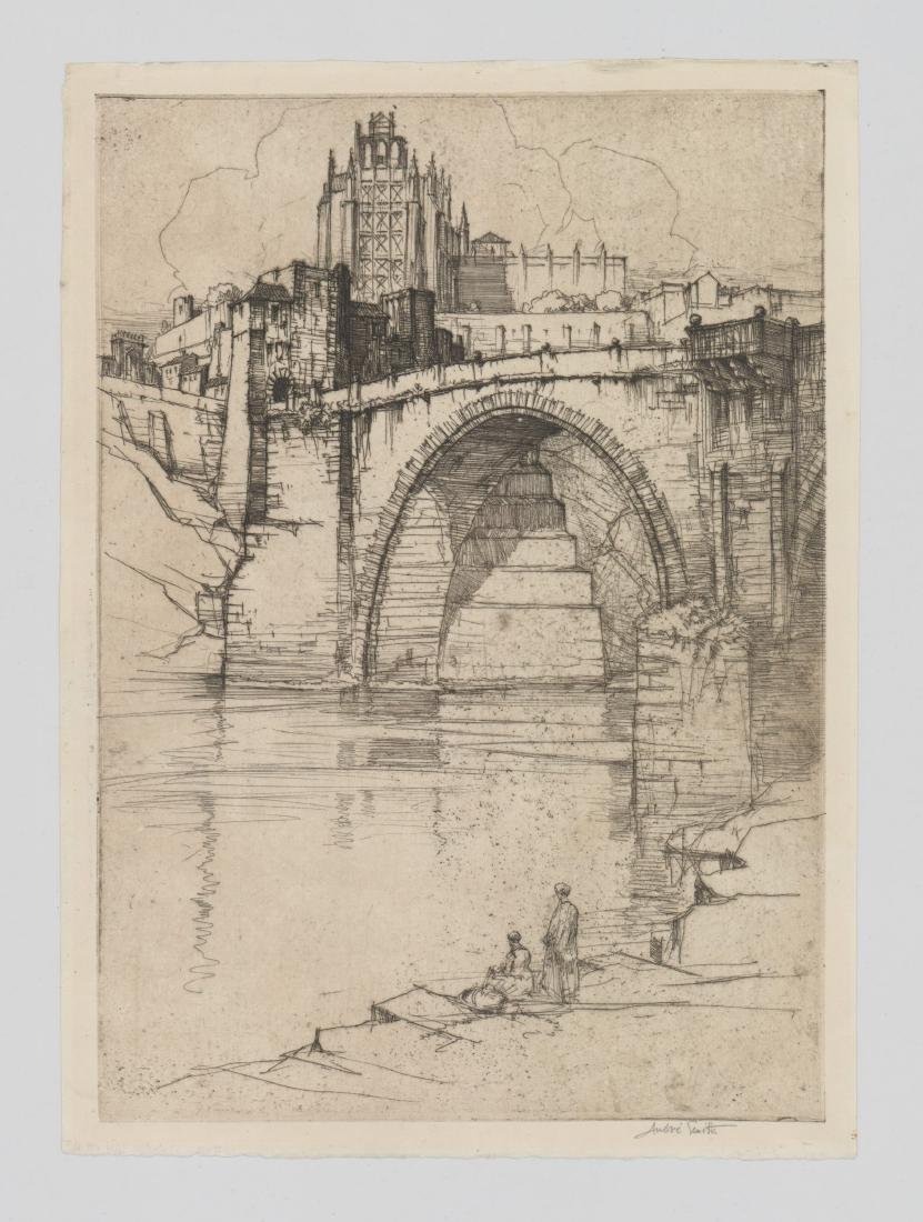 Jules Andre Smith (American 1880-1959) Etching - 2