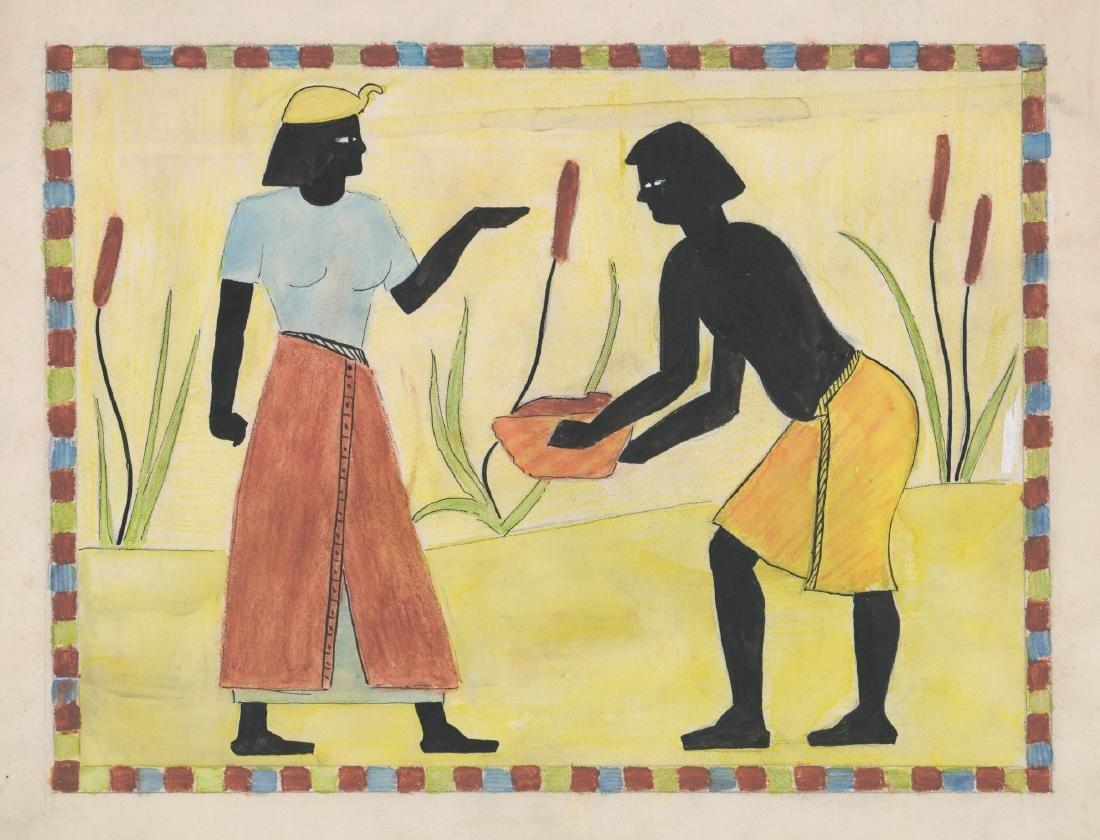 Zola Marcus (New York born 1915) Original Art