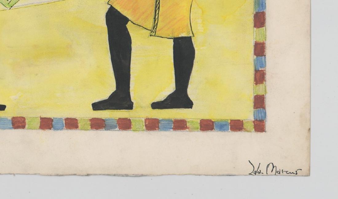 Zola Marcus (New York born 1915) Original Art - 3