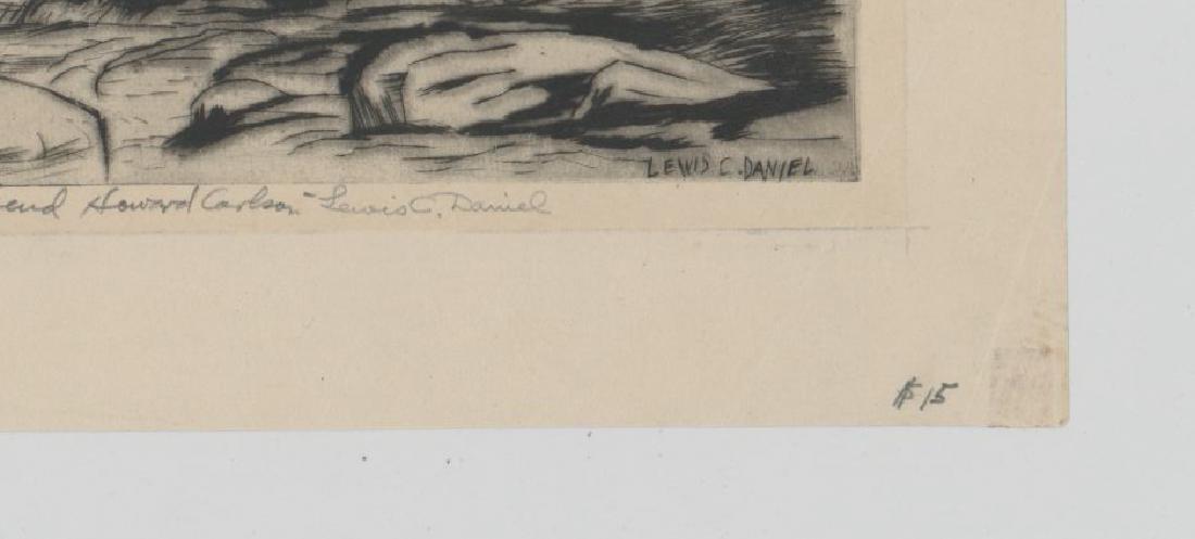 Lewis C. Daniel (1901 - 1952) Etching - 3