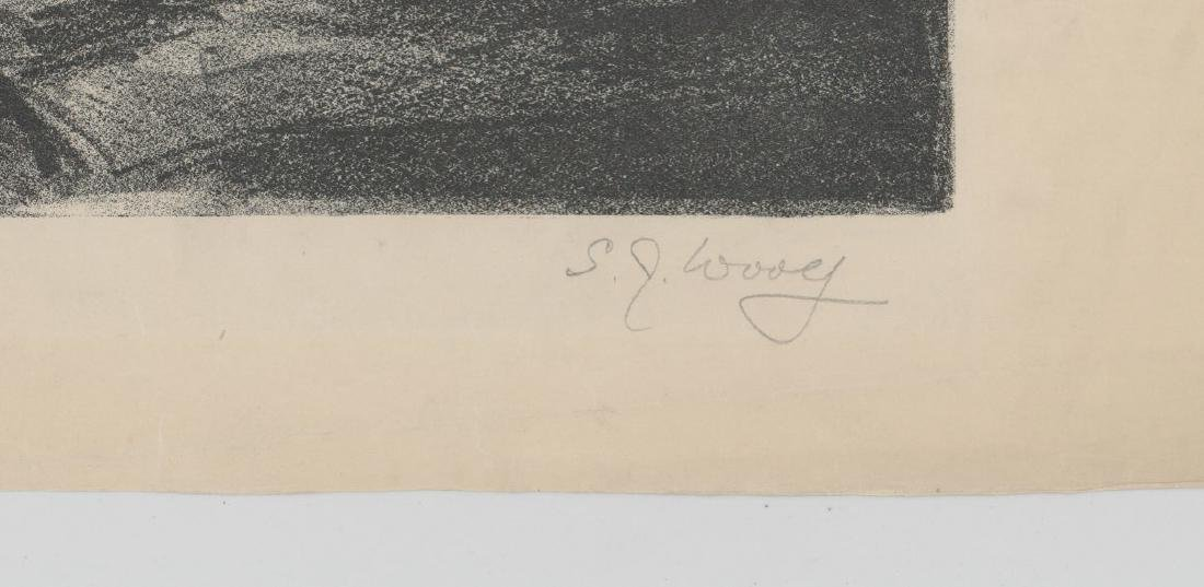 S.J. Woolf Lithograph of [Jams A.M. Whistler] - 3