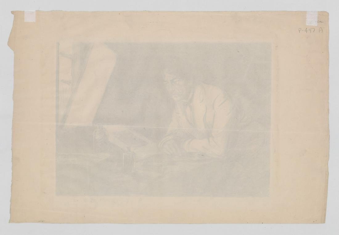 S.J. Woolf Lithograph of [Jams A.M. Whistler] - 4