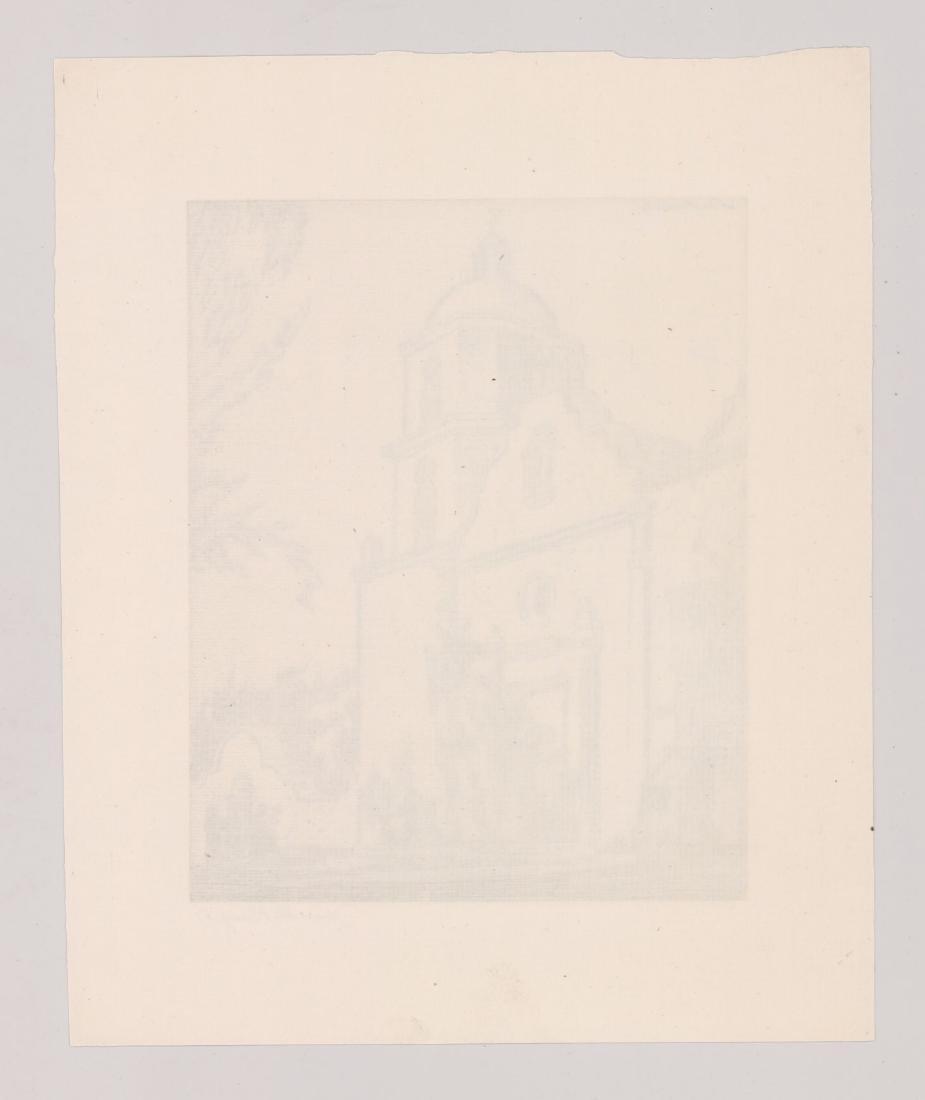 Henri De Kruif (1882 - 1944) Etching - 4