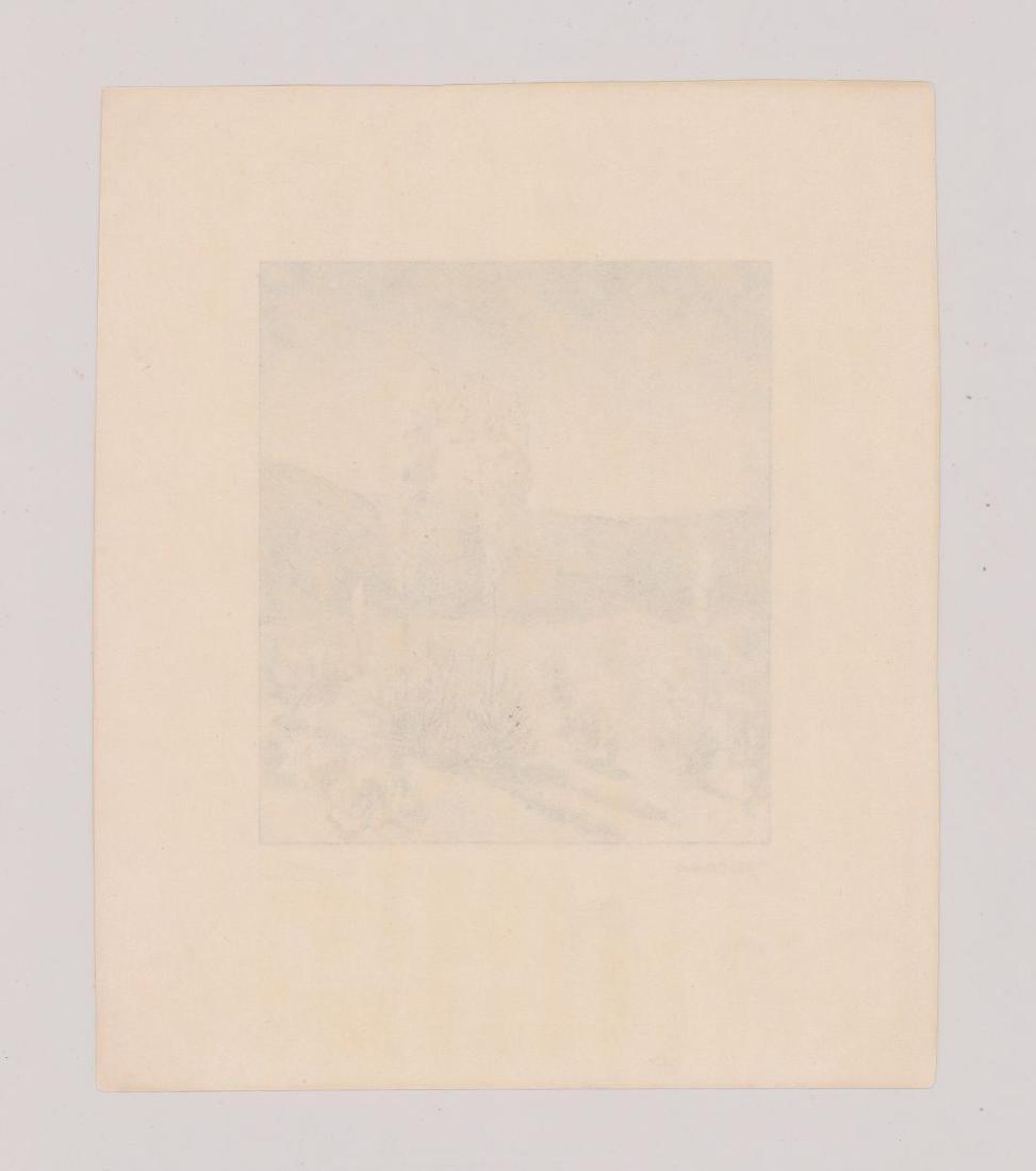 Charles Trano Etching - 4