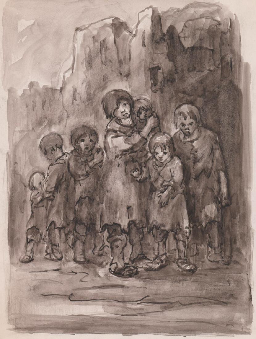 Eugene Higgins Original Art